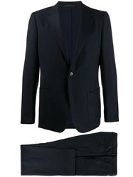 Z Zegna Slouchy Fit Suit Blue