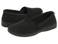 Foamtreads Coddles Black Women's Slippers