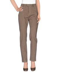 Haikure Trousers Casual Trousers Women Khaki