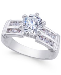 Charter Club Silver Tone Cubic Zirconia Pave Ring Only At Macy's