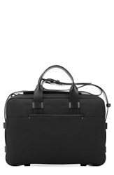 Men's Troubadour Water Resistant Nylon And Leather Briefcase