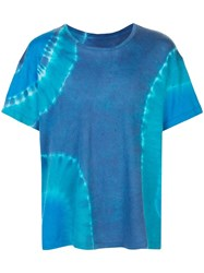 The Elder Statesman Tie Dye Relaxed Fit T Shirt 60