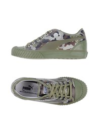 Puma By Miharayasuhiro Footwear Low Tops And Trainers Men Military Green