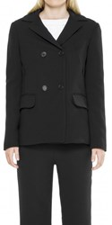 Leon Max Wool Double Breasted Car Coat