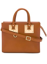 Sophie Hulme Medium Boxtan Tote Women Leather One Size Brown