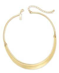 Inc International Concepts Hinged Stirrup Collar Necklace Only At Macy's Gold