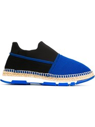 Dolce And Gabbana Mesh Sneakers Blue