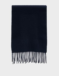 Norse Projects Lambswool Scarf In Dark Navy