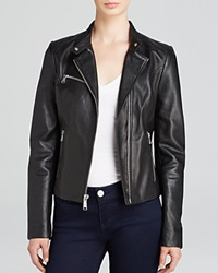 Andrew Marc New York Andrew Marc Casey Structured Moto Leather Jacket