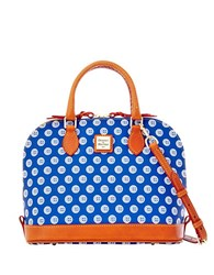 Dooney And Bourke Mlb Cubs Satchel Blue