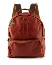 Will Leather Goods Felix Dome Backpack Brown