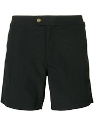 Tom Ford Classic Swimming Trunks Black