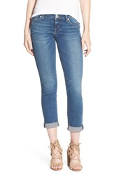 Women's Hudson Jeans 'Ginny' Rolled Crop Jeans Hot Springs