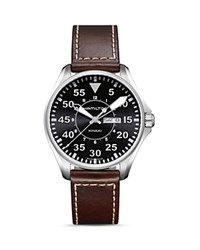 Hamilton Khaki Aviation Watch 42Mm Black Brown