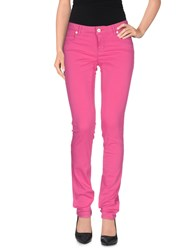 Siviglia Denim Trousers Casual Trousers Women Fuchsia