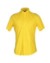 Lab. Pal Zileri Shirts Shirts Men Yellow