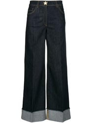 Boutique Moschino Straight Leg Jeans Blue