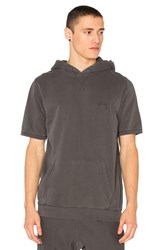 Stussy Stock S S Hoodie Charcoal