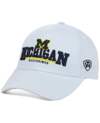 Top Of The World Michigan Wolverines Fan Favorite Cap White