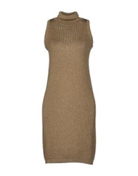 Tomaso Short Dresses Sand