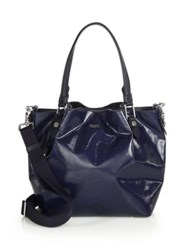 Tod's Flower Mini Coated Canvas Tote