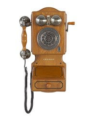 Crosley Country Kitchen Wall Phone Oak
