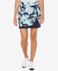 Callaway Printed Golf Skort Peacoat