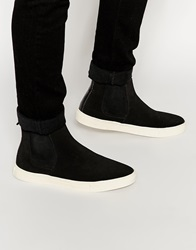New Look Faux Leather Chelsea Boot Black