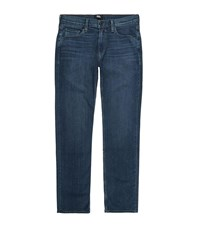 Paige Normandie Straight Jeans Navy