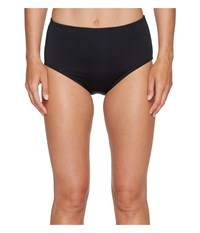 Jantzen Solid Comfort Core Bottom Black Women's Swimwear