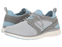 Superfeet Lora Grey Bluebell Women's Lace Up Casual Shoes Gray