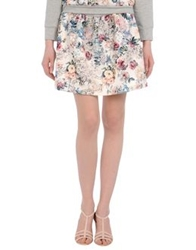George J. Love Mini Skirts Ivory