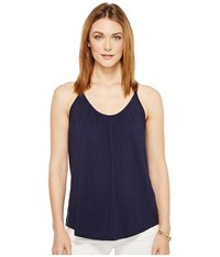Lilly Pulitzer Lacy Tank Top True Navy Women's Sleeveless