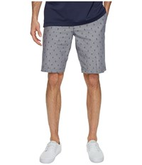 Dockers Perfect Short Classic Flat Front Morales A Good Red Paint Men's Shorts Gray