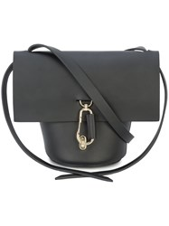Zac Posen Belay Mini Crossbody Bag Black