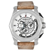 Orefici Gladiatore Vintage Watch Silver Natural
