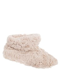 Isotoner Regina Slip On Slipper Boots Stone