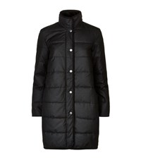 Barbour Heritage Long Quilted Wax Jacket Female Blue