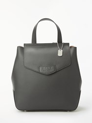 Dkny Sullivan Flapover Backpack Black
