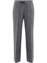 Undercover Drawstring Bootcut Trousers Grey