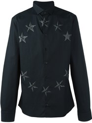 Philipp Plein Star Print Shirt Black
