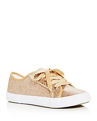 Jack Rogers Carter Glitter Lace Up Sneakers Multi Sparkle