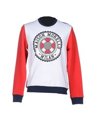 Frankie Morello Topwear Sweatshirts Men White