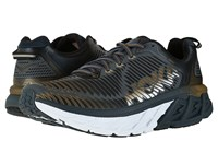 Hoka One One Arahi Midnight Navy Metallic Gold Men's Running Shoes Black