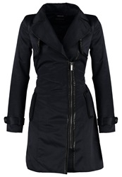 Morgan Trenchcoat Marine Noir Dark Blue