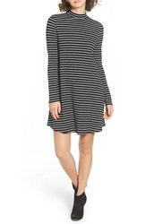 One Clothing Women's Stripe Swing Dress