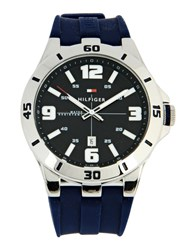 Tommy Hilfiger Timepieces Wrist Watches Men Dark Blue