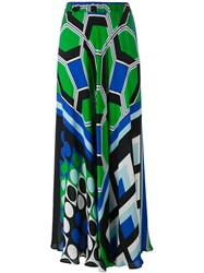 P.A.R.O.S.H. Printed Maxi Skirt Multicolour