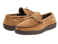 L.B. Evans Marion Hasbrown Suede Men's Slippers Tan