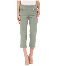 Jag Jeans Echo Pull On Classic Fit Crop In Dolce Twill Sailor Women's Casual Pants Navy